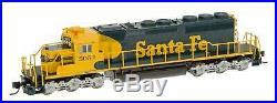 N Scale SD40-2 Loco withDCC & Sound Santa Fe #5053 InterMountain #69320S-01