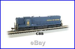 N Scale SD9 NORFOLK & WESTERN DCC & SOUND Equipped Locomotive Bachmann 62353