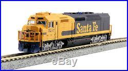 N Scale SDP40F Locomotive withDCC + Sound Santa Fe #5267 KATO Kobo 176-9241-LS