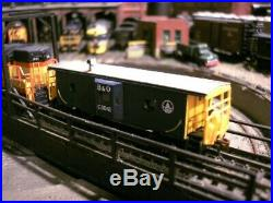N Scale SD-9 by ATLAS. Chessie/B&O DCC/Sound installed + FREE Caboose