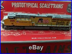 N Scale Scaletrains GE Tier 4 Gevo Union Pacific ET44AC with DCC/Sound Rare