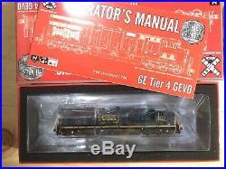 N Scale Trains Tier 4 Gevo 3378 Csx Dcc With Sound