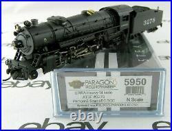 N Scale USRA Heavy Mikado withDCC & Paragon3 Sound ATSF #3278 BLI #5950