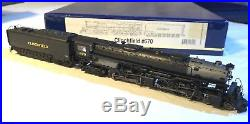 N scale Athearn steam loco with SOUND, 4-6-6-4 Challenger, Clinchfield #670, DCC