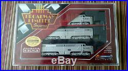 N scale Diesel ABA Broadway Limited in Rio Grande Colors. DCC/Sound Equipped