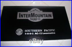 N scale Intermountain Cab Forward P/N 79010S DCC sound Road number 4284
