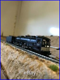 N scale steam locomotive intermountain AC12 4-8-8-2 cab foreward dcc+sound DCC