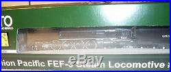 New #844 Up Factory DCC & Sound Fef-3, Water Tenders And 7 Car Pass Illuminated