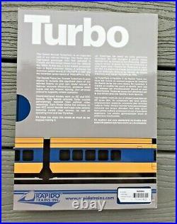 Rapido 1/160 N C. N. Canadian National Turbo Train 5 Car Set Dc/dcc Sound 520505