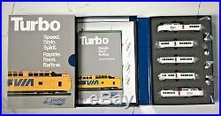 Rapido 1/160 N Scale Canadian National Turbo Train 5 Car Set Dc/dcc Sound 520505