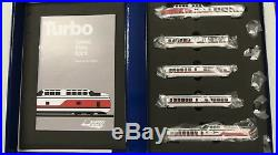 Rapido N Scale 520503 Early Amtrak Turbotrain DCC & Sound
