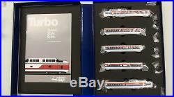 Rapido N Scale 520504 Late Amtrak Turbotrain DCC & Sound