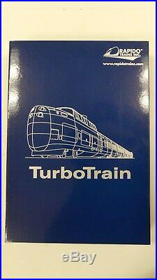 Rapido N Scale 520506 Via Rail Canada Turbotrain DCC & Sound