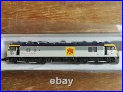 Revolution N Gauge Class 92 DCC Sound locomotive EWS beastie logo triple grey