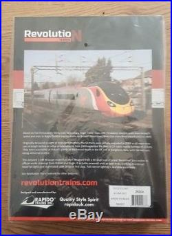 Revolution Trains N Gauge 9-car Pendolino DCC Sound Fitted 390001