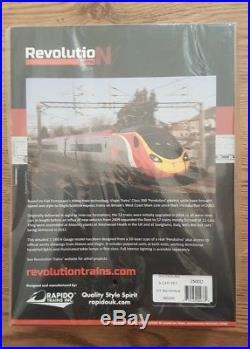 Revolution Trains N Gauge 9-car Pendolino DCC Sound Fitted 390045