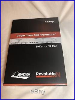Revolution Trains N gauge Pendolino 11 car City of Birmingham DCC SOUND