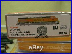 ScaleTrains Rivet Counter C44-9W N Scale withDCC and Sound BNSF