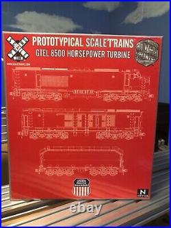 ScaleTrains Rivet Counter DCC Lok Sound Union Pacifiic GTEL Turbine #18