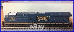 Scale Trains N Scale GE Tier 4 GEVo ET44 CSX #3313 w DCC/Sound