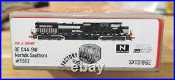 Scaletrains. Com Rivet Counter C44-9W Norfolk Southern 9557 DCC Sound NIB N scale