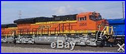 Scaletrains N Scale SXT30604 ET44C4 Tier 4 Gevo BNSF #3786 DCC & Sound