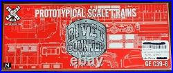 Scaletrains Rivet Counter N Scale DCC / Sound NS GE C39-8 # 8597 SXT31142