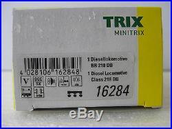 TRIX MINITRIX T16284 Diesellok BR 218 DB Touristikzug SOUND DCC/SX NEU