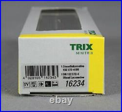 TRIX Minitrix 16234 Spur N Diesellokomotive BR 132, Ep. IV, DCC+SOUND NEU