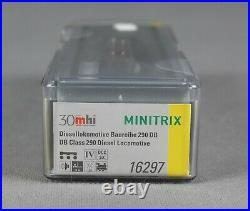 TRIX Minitrix 16297 Spur N Diesellokomotive BR 290 DB / DCC/SX, Sound NEUWARE