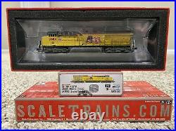 Union Pacific 2682 ScaleTrains TIER 4 GEVO RIVET COUNTER DCC and SOUND N SCALE