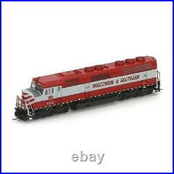 Wisconsin & Southern EMD F45 #1002 Sound & DCC N Athearn #ATH15191 vmf121