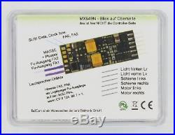 DCC MM Motorola wie MX646N 0,7 A ZIMO MX649N Miniatur Sound-Decoder NEM651