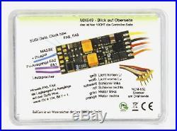 ZIMO MX649R Miniatur Sound-Decoder mit 8-pol Schnittstelle NEM652 0,7 A DCC MM